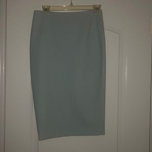 Baby Blue Elizabeth and James pencil skirt